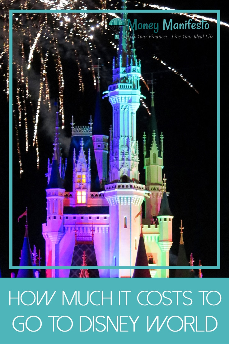 how much it costs to go to Disney world below Cinderella castle at night