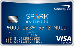 spark miles for business sign up bonus