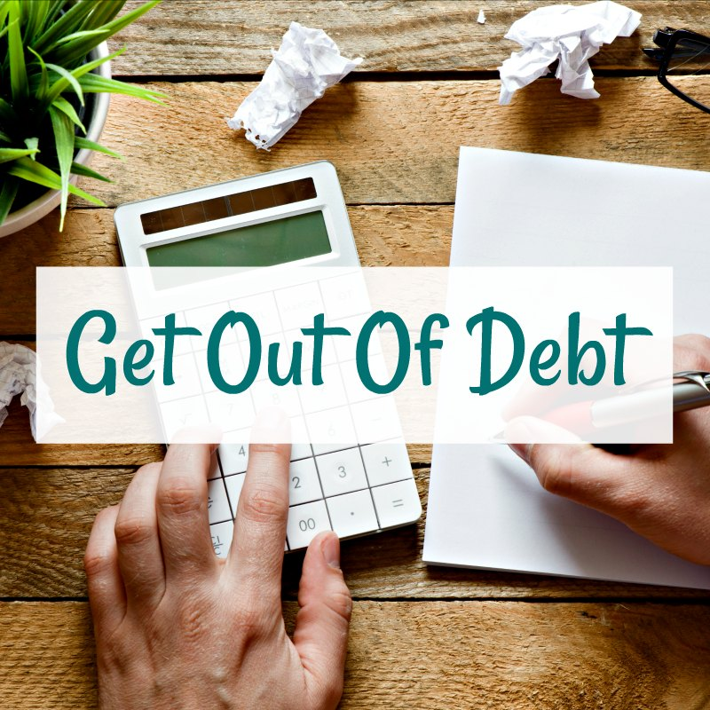 How to get out of debt when you dont know where to start