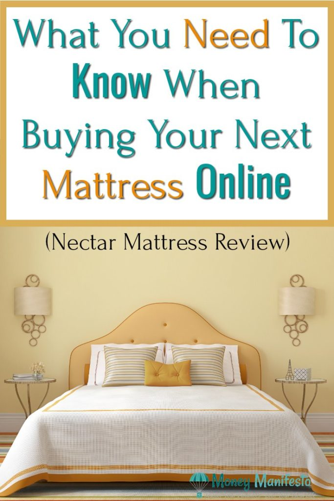 What You Need To Know When Buying Your Next Mattress Online Nectar Mattress Review above neatly made bed with headboard two nightstands and two lamps