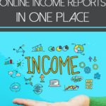 the latest money manifesto income reports all in one place above the word income surrounded by business icons