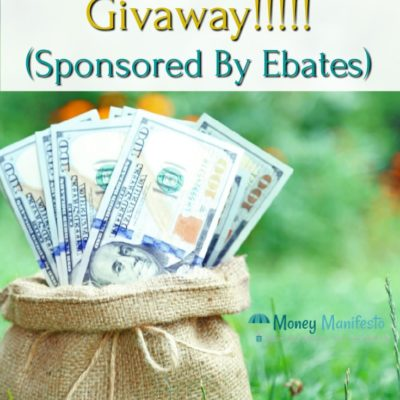 Enter Our $250 Visa Gift Card Giveaway Sponsored By Ebates