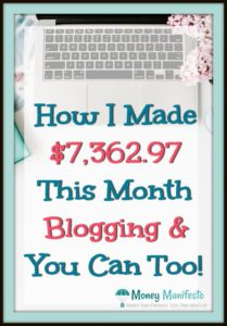 how i made $7,362.97 this month blogging and you can too under laptop on desk