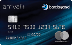 barclaycard arrival plus credit card art