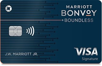 marriott bonvoy boundless credit card art
