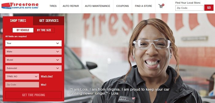 Firestone complete auto care website